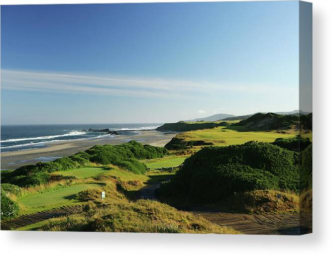 Viewpoint Canvas Print featuring the photograph Pacific Dunes 13th by David Cannon