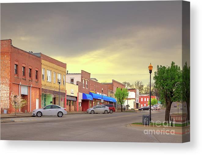 Explore Canvas Print featuring the photograph Park Hills Missouri by Larry Braun