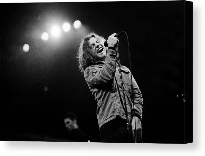 Singer Canvas Print featuring the photograph Paul Natkin Archive by Paul Natkin