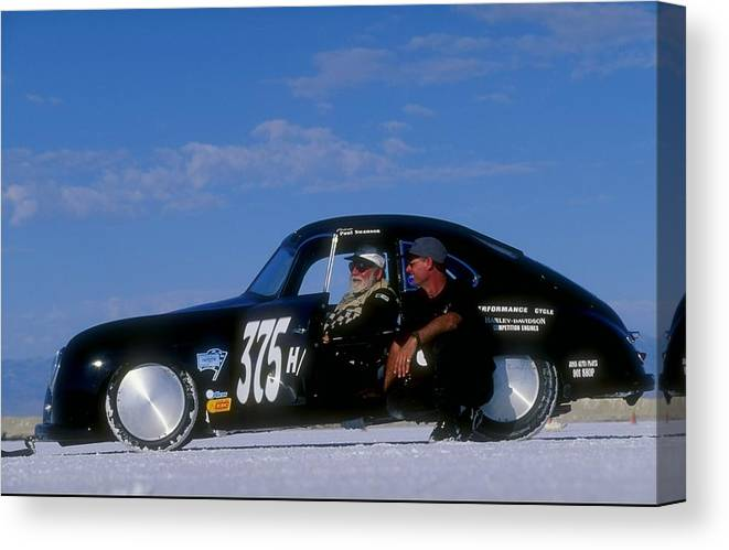Sports Car Canvas Print featuring the photograph Paul Swanson by David Taylor
