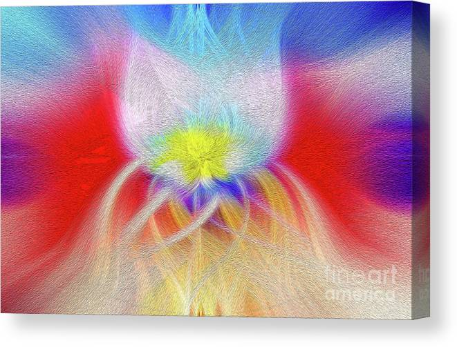 Art Print Canvas Print featuring the digital art Prominence Personified by Kenneth Montgomery
