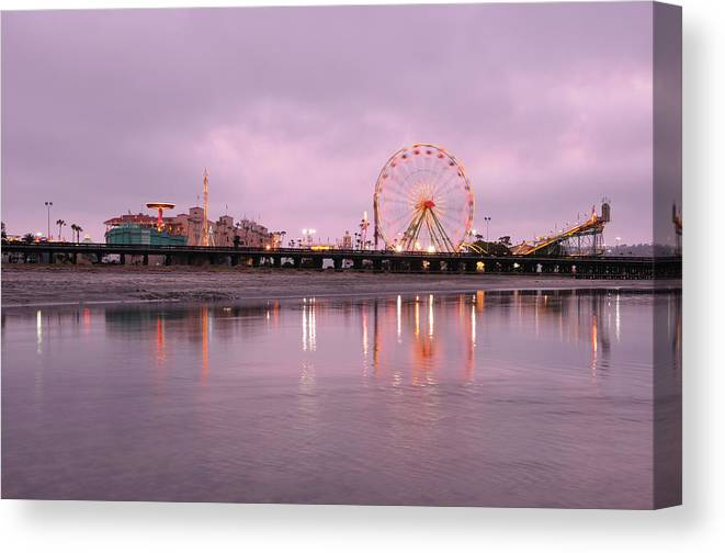 Southern California Canvas Print featuring the photograph San Diego County Fair by Paule858