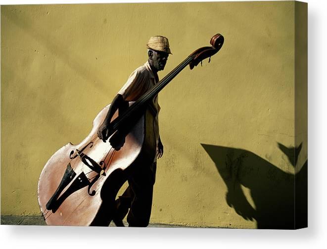 One Man Only Canvas Print featuring the photograph Santiago De Cuba, Cuba by Buena Vista Images