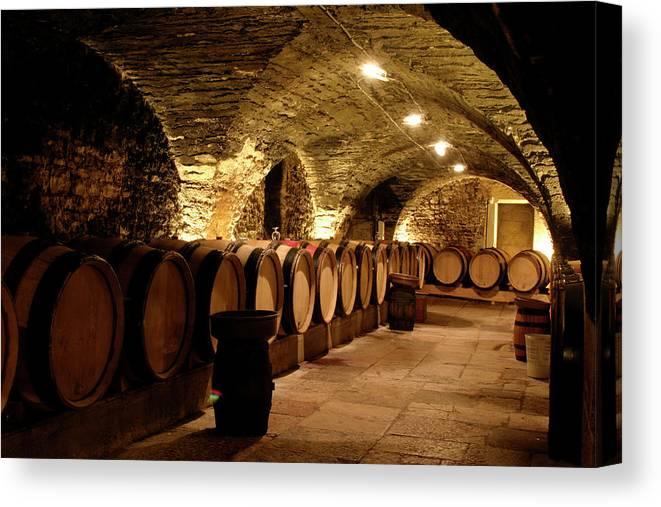 Arch Canvas Print featuring the photograph Wine Cellar by Brasil2