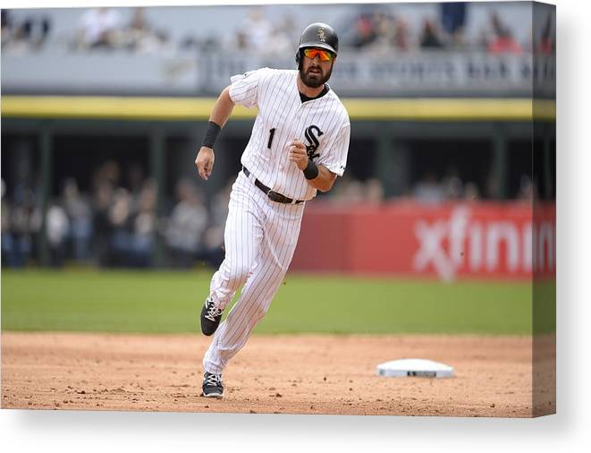 People Canvas Print featuring the photograph Adam Eaton by Ron Vesely