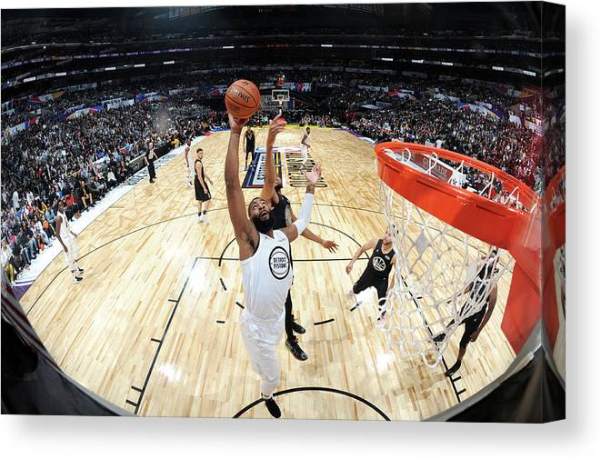 Nba Pro Basketball Canvas Print featuring the photograph Andre Drummond by Andrew D. Bernstein