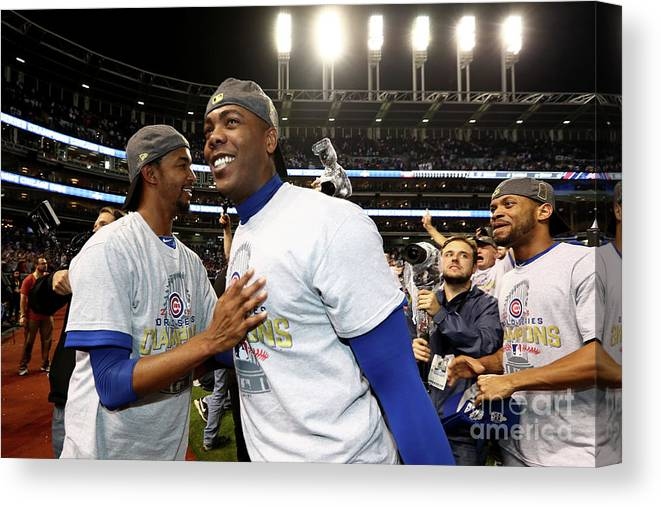 People Canvas Print featuring the photograph Aroldis Chapman by Elsa