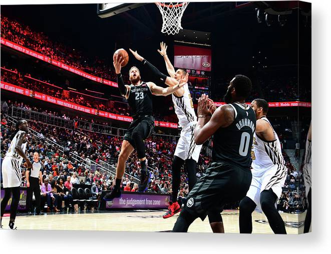 Atlanta Canvas Print featuring the photograph Blake Griffin by Scott Cunningham