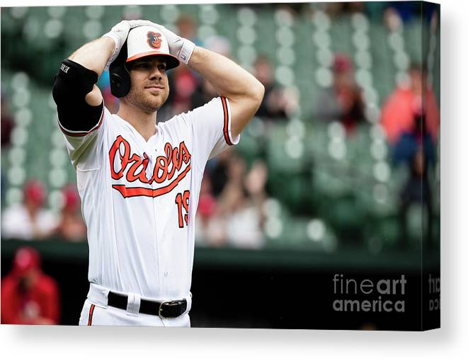 People Canvas Print featuring the photograph Chris Davis by Scott Taetsch