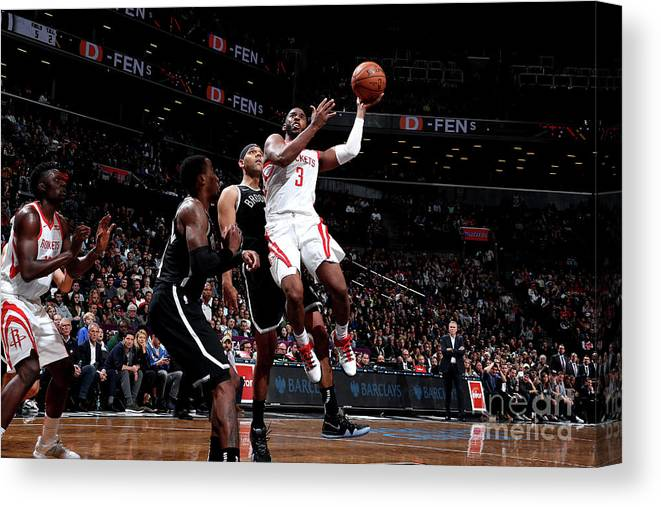 Nba Pro Basketball Canvas Print featuring the photograph Chris Paul by Nathaniel S. Butler