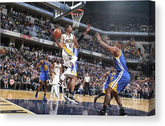 Nba Pro Basketball Canvas Print featuring the photograph Glenn Robinson by Nathaniel S. Butler