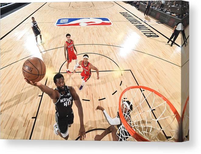 Nba Pro Basketball Canvas Print featuring the photograph Harrison Barnes by Joe Murphy