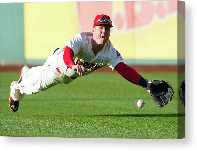 People Canvas Print featuring the photograph Ian Kinsler by Jason Miller