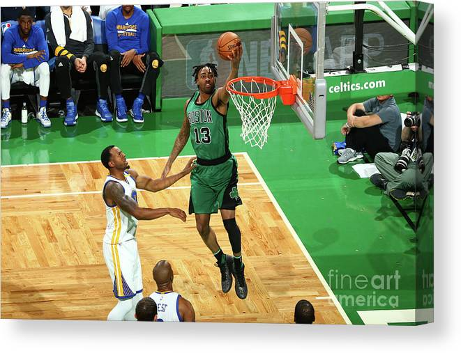 Nba Pro Basketball Canvas Print featuring the photograph James Young by Nathaniel S. Butler