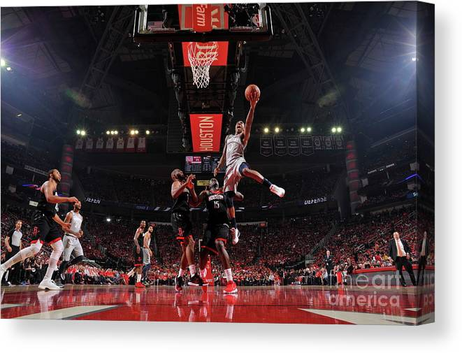 Playoffs Canvas Print featuring the photograph Jeff Teague by Bill Baptist