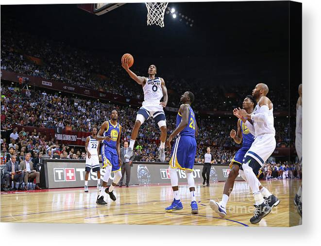 Event Canvas Print featuring the photograph Jeff Teague by David Sherman