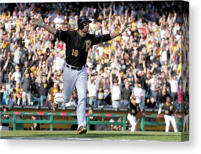 Professional Sport Canvas Print featuring the photograph Neil Walker by Justin K. Aller