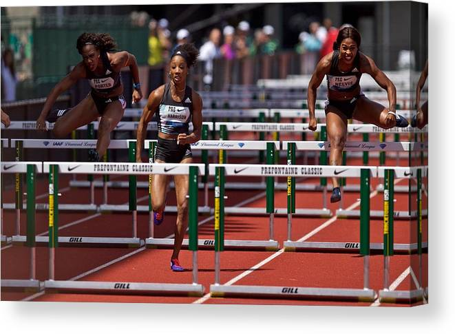 People Canvas Print featuring the photograph Prefontaine Classic by Craig Mitchelldyer