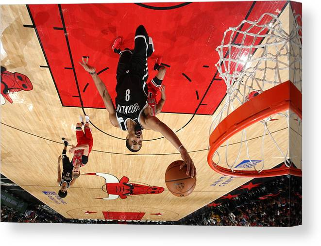 Nba Pro Basketball Canvas Print featuring the photograph Spencer Dinwiddie by Gary Dineen