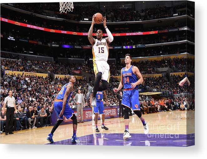 Nba Pro Basketball Canvas Print featuring the photograph Thomas Robinson by Andrew D. Bernstein