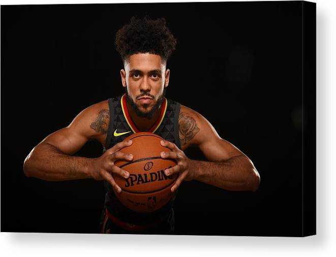 Nba Pro Basketball Canvas Print featuring the photograph Tyler Dorsey by Brian Babineau