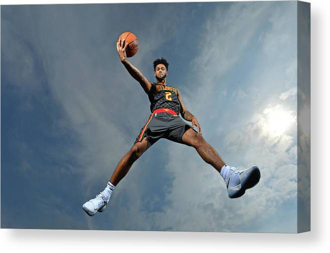 Nba Pro Basketball Canvas Print featuring the photograph Tyler Dorsey by Jesse D. Garrabrant