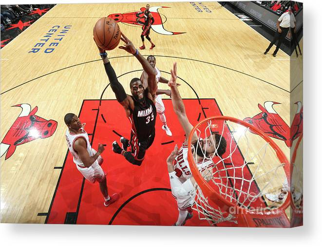 Nba Pro Basketball Canvas Print featuring the photograph Willie Reed by Nathaniel S. Butler