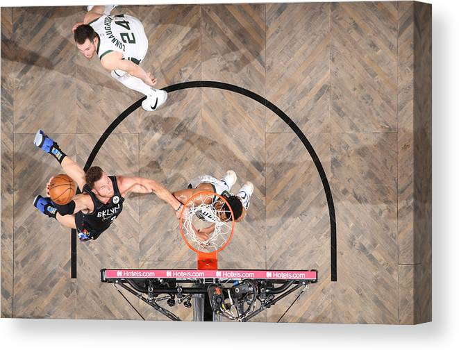 Playoffs Canvas Print featuring the photograph Blake Griffin by Nathaniel S. Butler