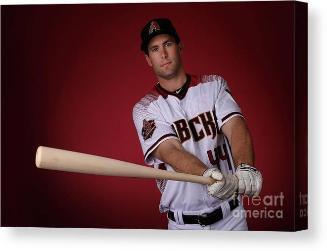 Media Day Canvas Print featuring the photograph Paul Goldschmidt by Christian Petersen
