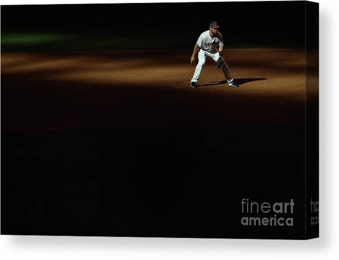 Mother's Day Canvas Print featuring the photograph Paul Goldschmidt by Christian Petersen