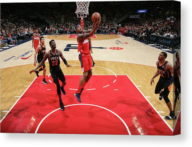 Nba Pro Basketball Canvas Print featuring the photograph Bradley Beal by Ned Dishman