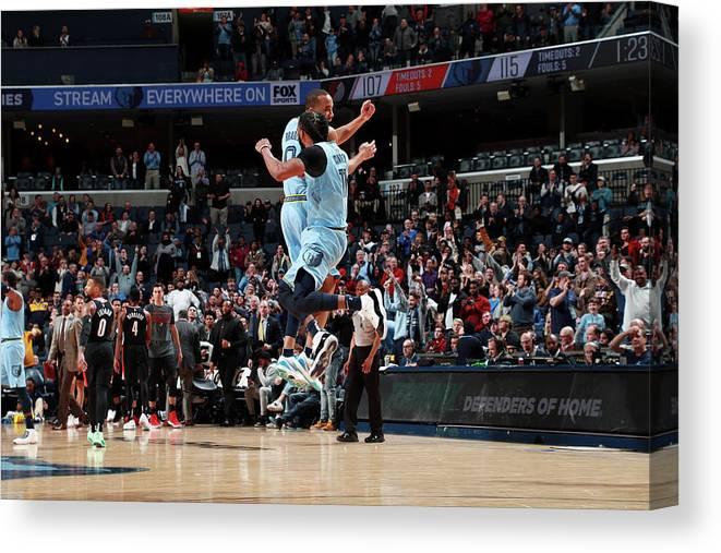 Nba Pro Basketball Canvas Print featuring the photograph Avery Bradley by Joe Murphy