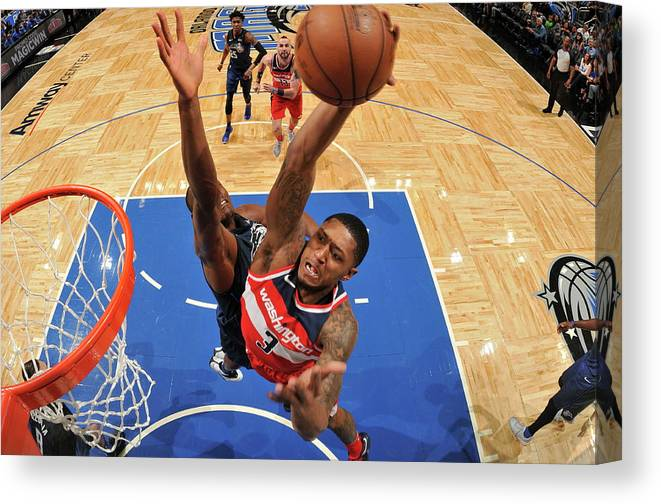 Nba Pro Basketball Canvas Print featuring the photograph Bradley Beal by Fernando Medina