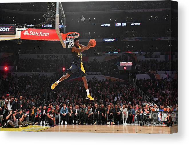 Event Canvas Print featuring the photograph Victor Oladipo by Jesse D. Garrabrant