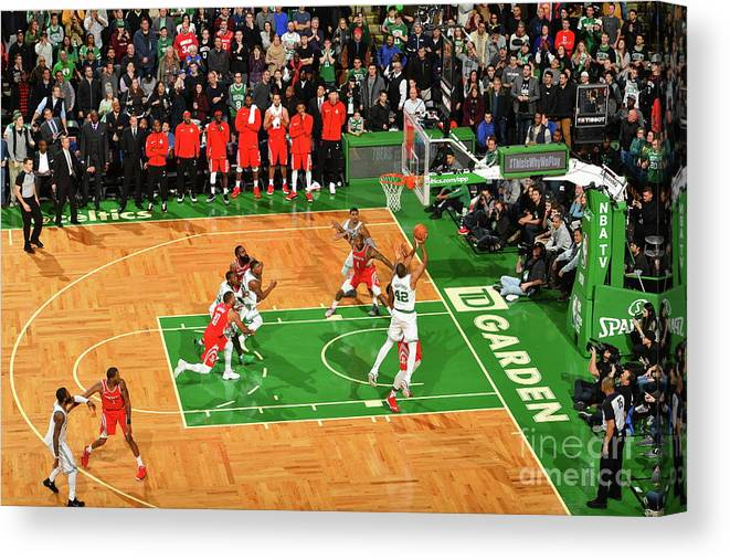 Nba Pro Basketball Canvas Print featuring the photograph Al Horford by Jesse D. Garrabrant