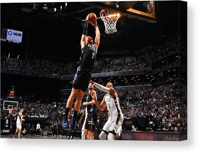 Nba Pro Basketball Canvas Print featuring the photograph Blake Griffin by Jesse D. Garrabrant