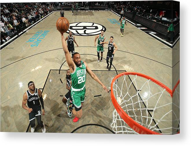 Playoffs Canvas Print featuring the photograph Jabari Parker by Nathaniel S. Butler