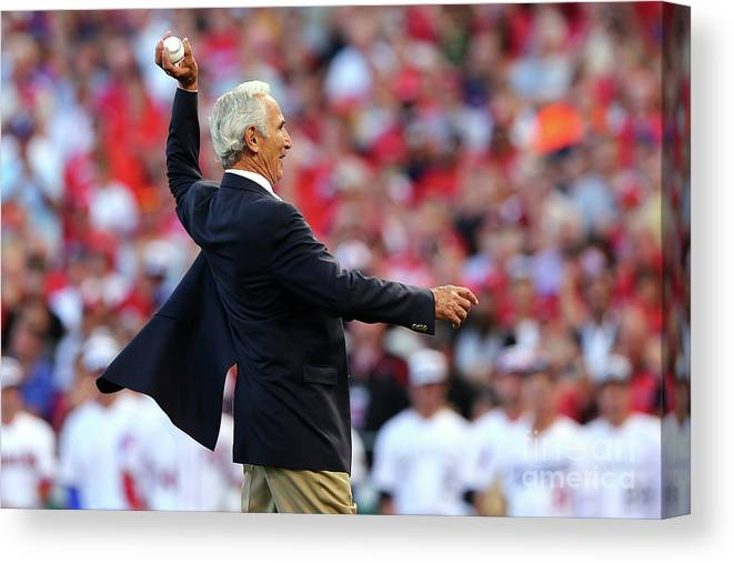 Great American Ball Park Canvas Print featuring the photograph Sandy Koufax by Elsa