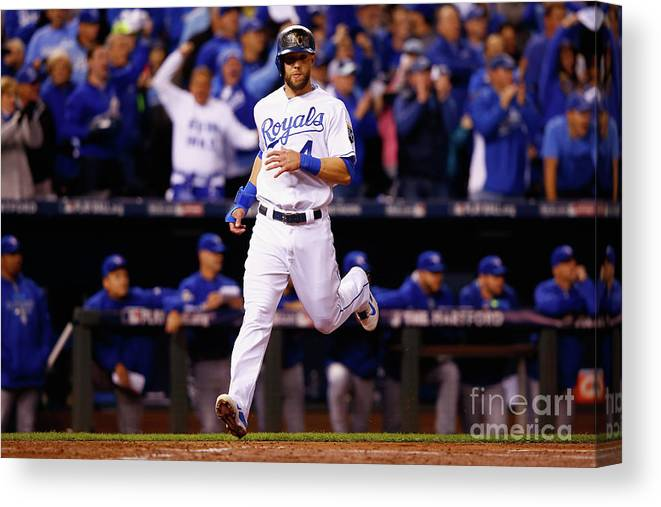 People Canvas Print featuring the photograph Alex Gordon by Jamie Squire