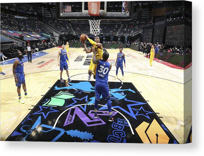 Atlanta Canvas Print featuring the photograph Chris Paul by Nathaniel S. Butler