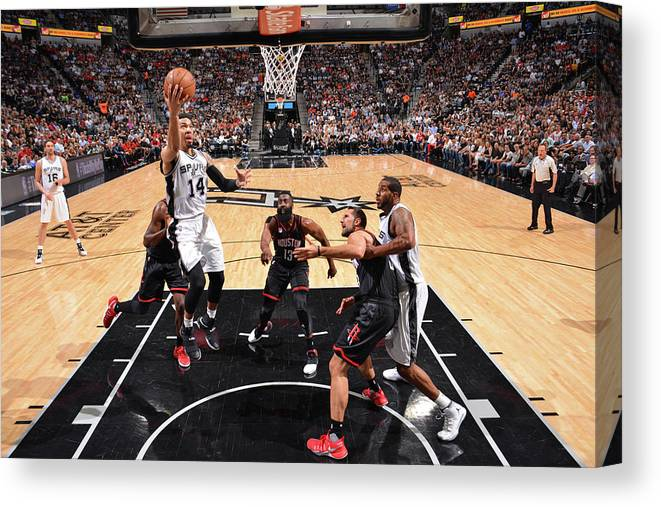 Playoffs Canvas Print featuring the photograph Danny Green by Jesse D. Garrabrant