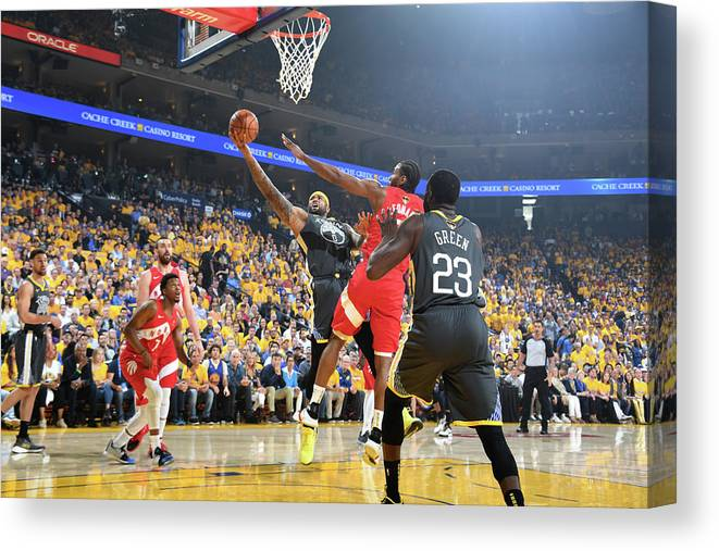 Playoffs Canvas Print featuring the photograph Demarcus Cousins by Andrew D. Bernstein