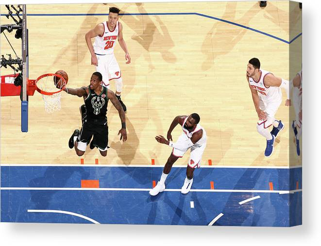 Nba Pro Basketball Canvas Print featuring the photograph Eric Bledsoe by Nathaniel S. Butler