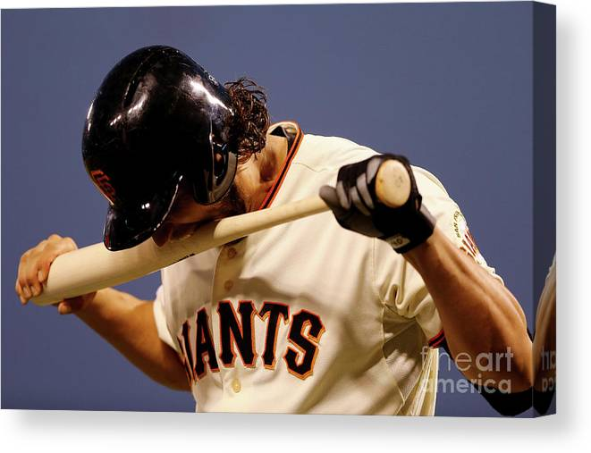 San Francisco Canvas Print featuring the photograph Madison Bumgarner by Elsa