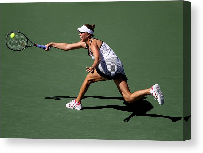 Tennis Canvas Print featuring the photograph U.S. Open - Day 10 by Jim McIsaac