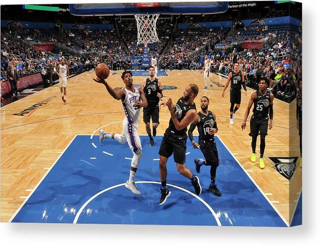 Nba Pro Basketball Canvas Print featuring the photograph Jimmy Butler by Fernando Medina