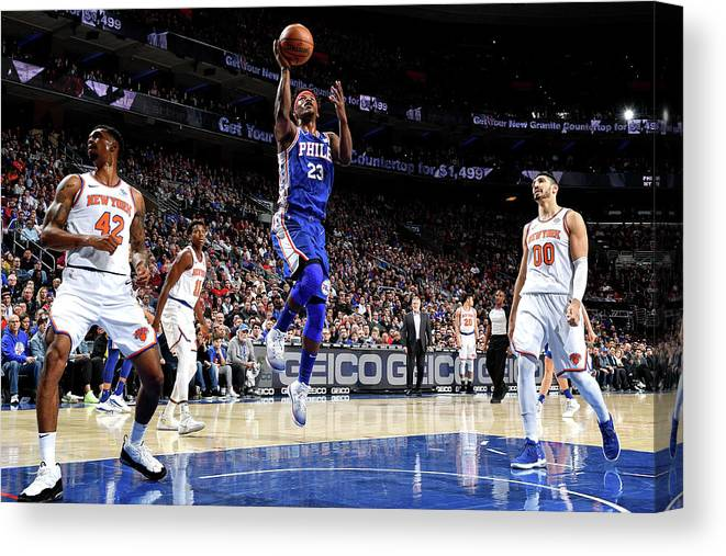 Nba Pro Basketball Canvas Print featuring the photograph Jimmy Butler by Jesse D. Garrabrant