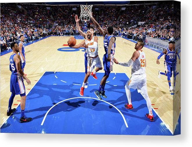 Nba Pro Basketball Canvas Print featuring the photograph Vince Carter by Jesse D. Garrabrant