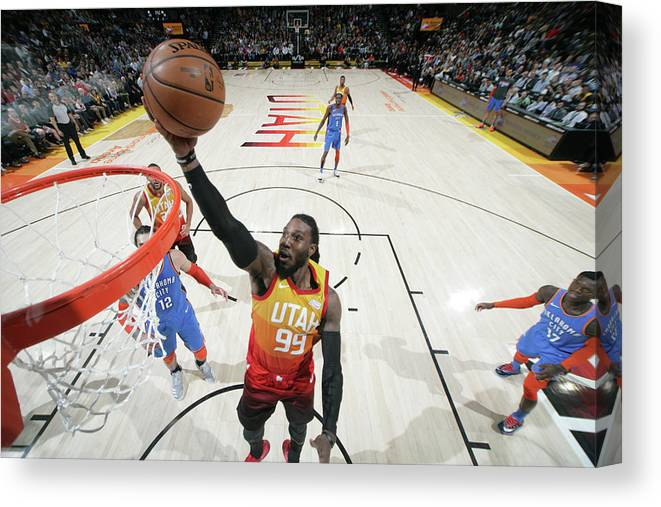 Nba Pro Basketball Canvas Print featuring the photograph Jae Crowder by Melissa Majchrzak