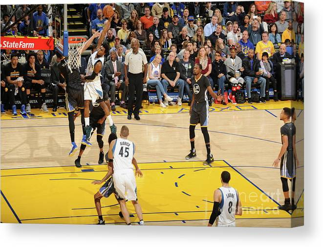 Nba Pro Basketball Canvas Print featuring the photograph Andrew Wiggins by Andrew D. Bernstein